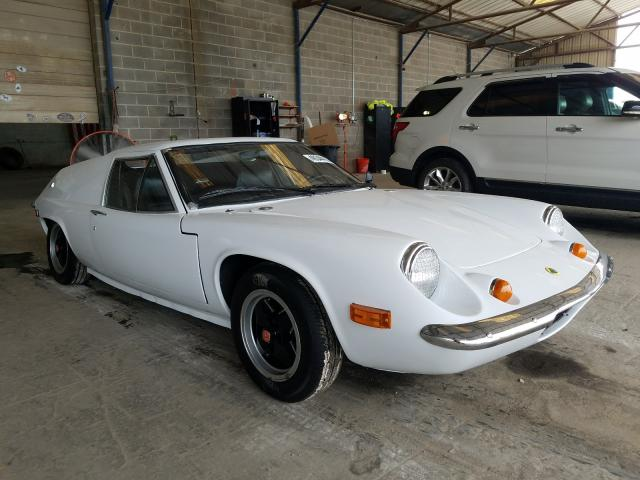 Salvage cars for sale from Copart Cartersville, GA: 1971 Lotus Europa