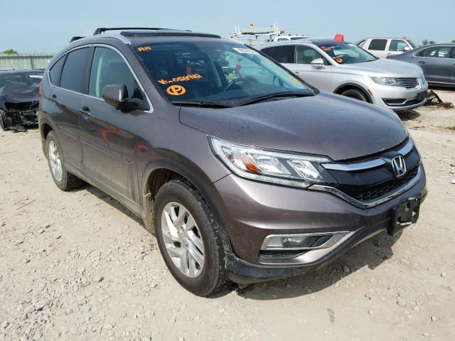 2016 Honda CR-V EXL for sale in Kansas City, KS