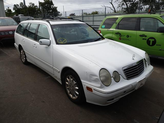Mercedes-Benz E 320 4matic salvage cars for sale: 2000 Mercedes-Benz E 320 4matic