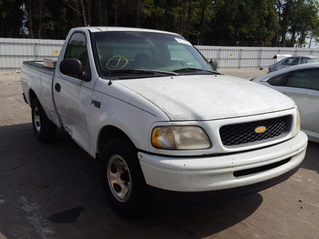 Salvage cars for sale from Copart Dunn, NC: 1998 Ford F-150