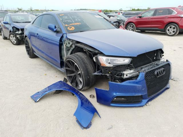 Salvage cars for sale from Copart Kansas City, KS: 2015 Audi S5 Premium