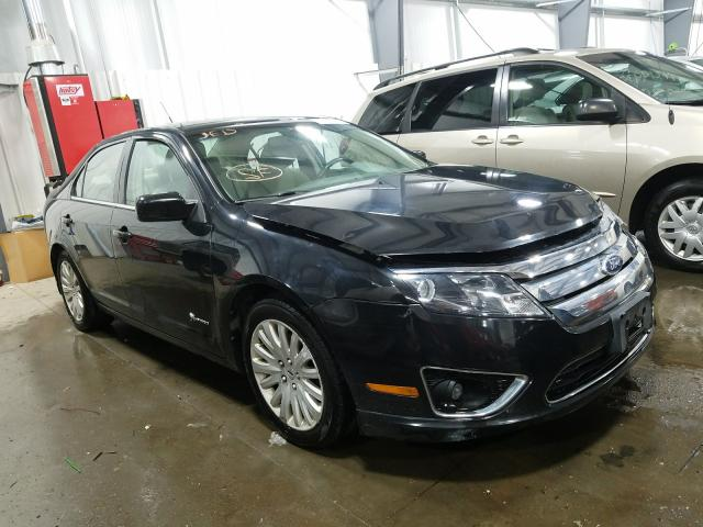 Salvage cars for sale from Copart Ham Lake, MN: 2010 Ford Fusion Hybrid