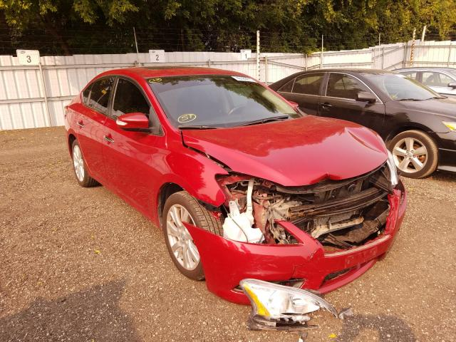 Salvage cars for sale from Copart Ontario Auction, ON: 2013 Nissan Sentra S