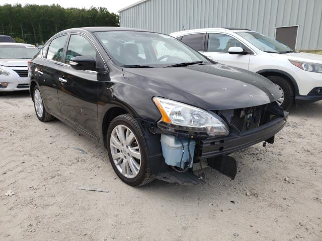 Salvage cars for sale from Copart Hampton, VA: 2013 Nissan Sentra S