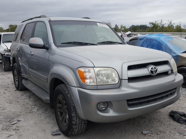 Toyota Sequoia SR salvage cars for sale: 2007 Toyota Sequoia SR