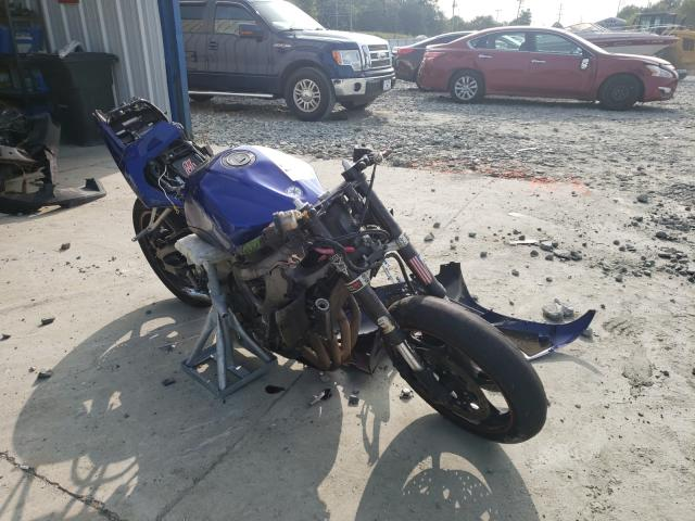 Salvage cars for sale from Copart Mebane, NC: 2005 Yamaha YZFR6 L