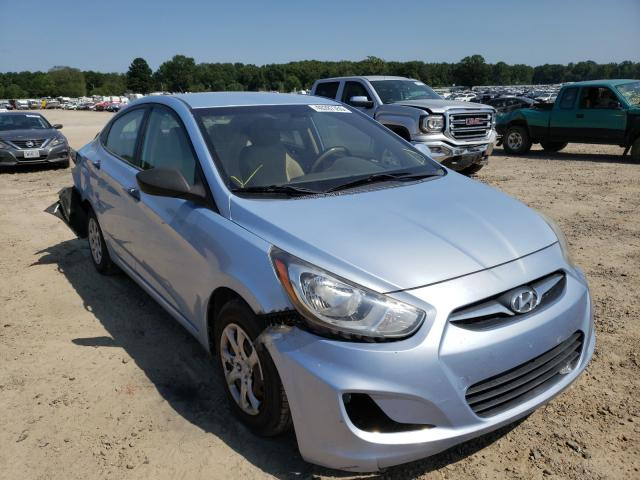 Salvage cars for sale at Conway, AR auction: 2012 Hyundai Accent GLS
