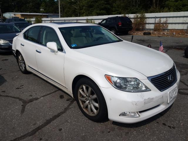 Salvage cars for sale from Copart Exeter, RI: 2008 Lexus LS 460