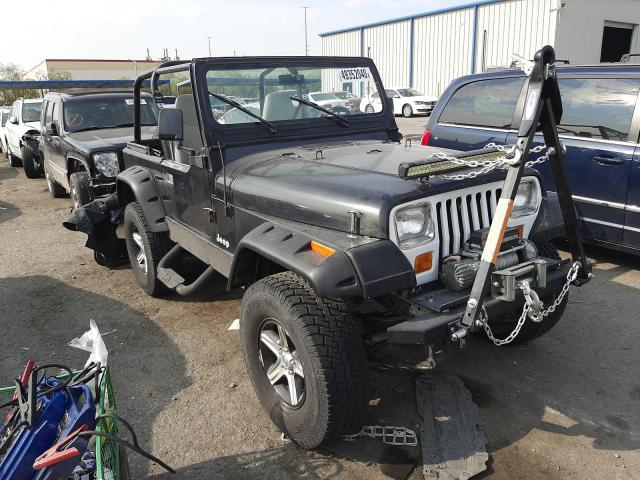 Jeep Wrangler salvage cars for sale: 1988 Jeep Wrangler