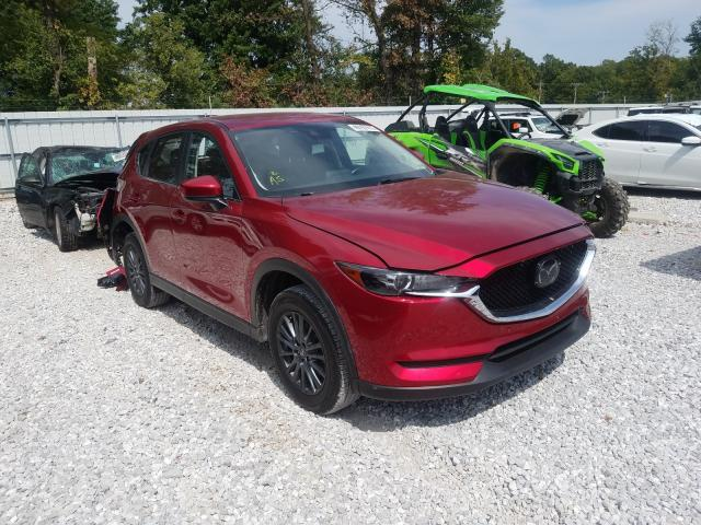 Salvage cars for sale from Copart Rogersville, MO: 2019 Mazda CX-5 Touring