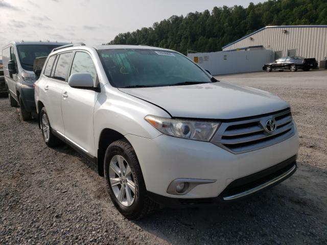 Salvage cars for sale from Copart Hurricane, WV: 2013 Toyota Highlander