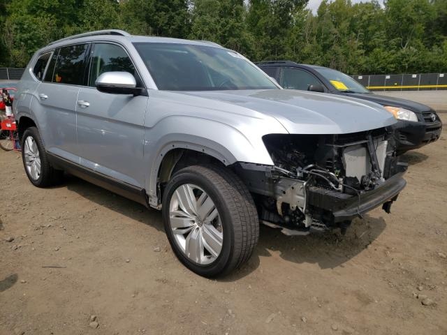 Salvage cars for sale from Copart Waldorf, MD: 2018 Volkswagen Atlas SEL