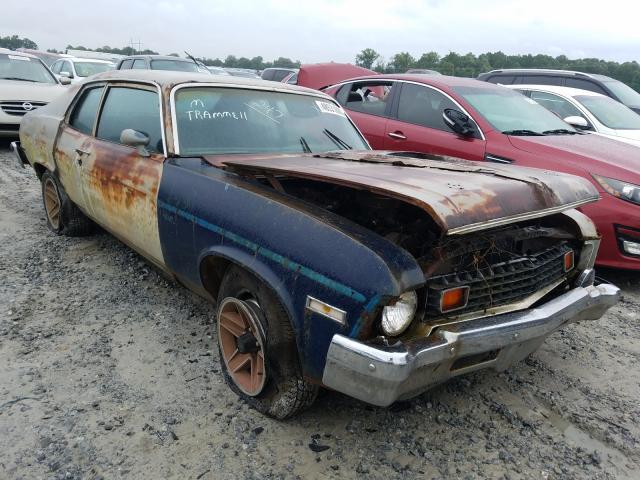 Salvage 1973 Chevrolet NOVA for sale