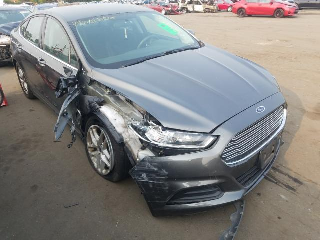 Ford Fusion SE salvage cars for sale: 2015 Ford Fusion SE