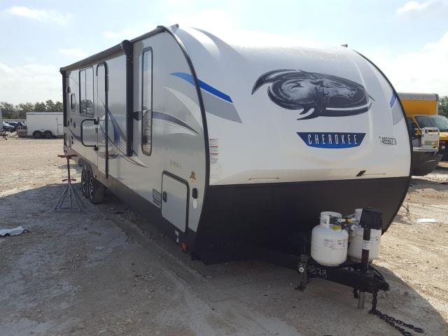 Forest River salvage cars for sale: 2019 Forest River Travel Trailer