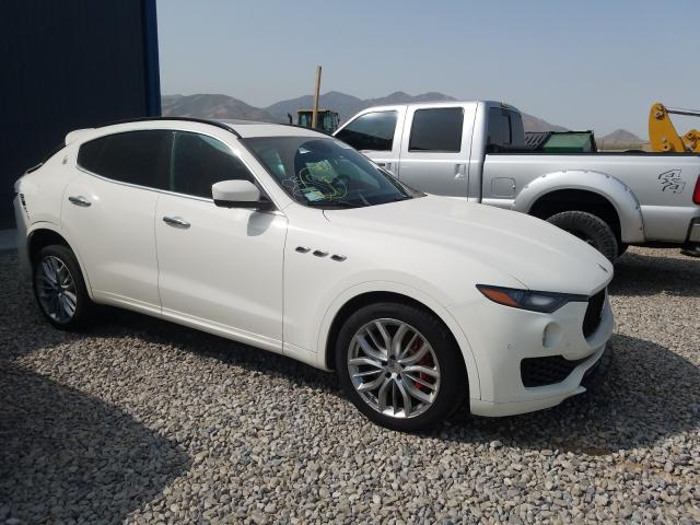 Maserati salvage cars for sale: 2018 Maserati Levante S
