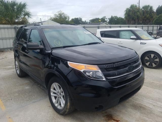 Salvage cars for sale from Copart Punta Gorda, FL: 2015 Ford Explorer