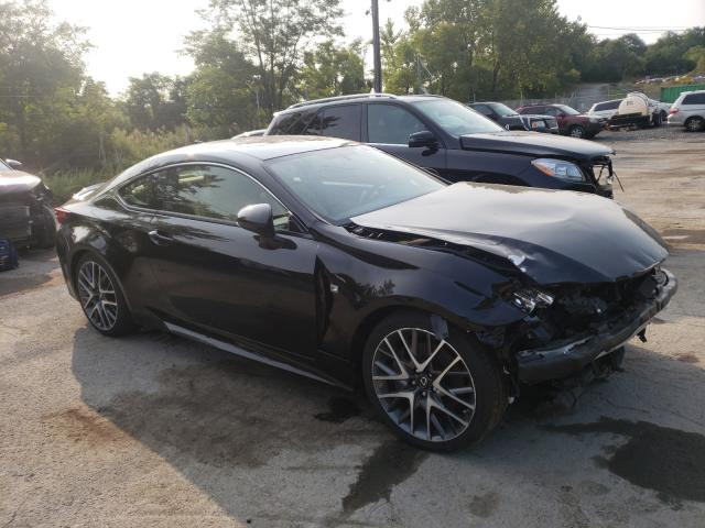 Salvage cars for sale from Copart Marlboro, NY: 2016 Lexus RC 300