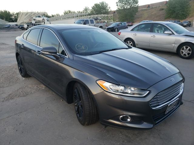 Ford salvage cars for sale: 2016 Ford Fusion SE