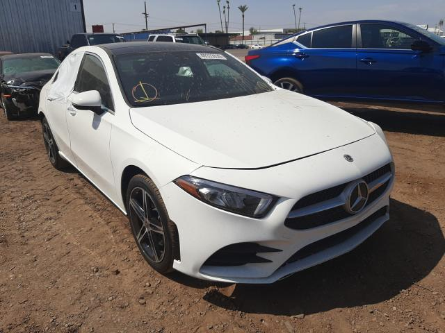 Mercedes-Benz A 220 4matic salvage cars for sale: 2019 Mercedes-Benz A 220 4matic