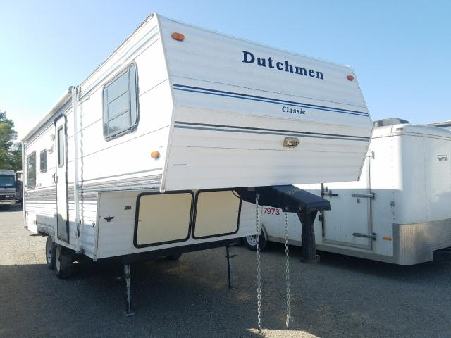 Dutchmen Classic salvage cars for sale: 1996 Dutchmen Classic