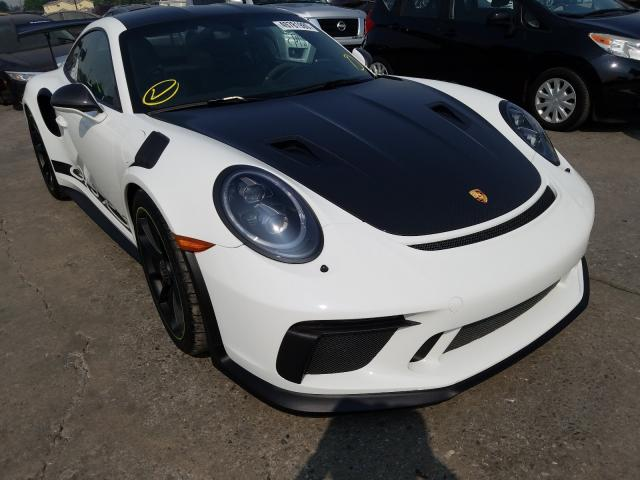 Porsche salvage cars for sale: 2019 Porsche 911 GT3 RS