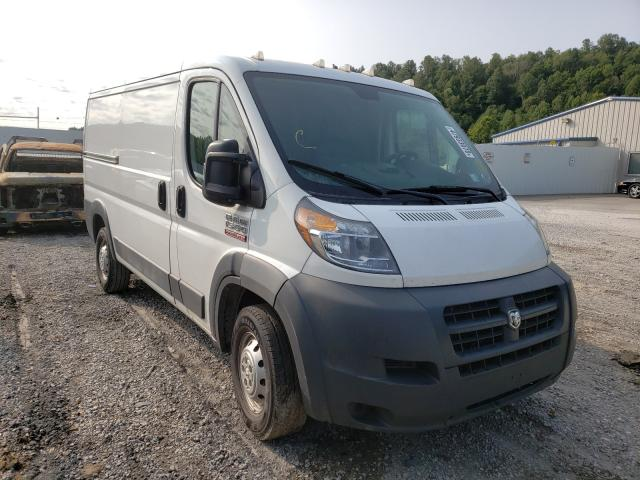 Salvage cars for sale from Copart Hurricane, WV: 2016 Dodge RAM Promaster