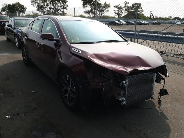Buick Lacrosse S salvage cars for sale: 2016 Buick Lacrosse S