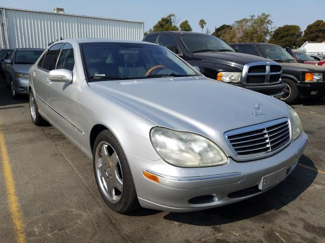 Mercedes-Benz S 430 salvage cars for sale: 2001 Mercedes-Benz S 430
