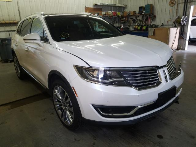 Salvage cars for sale from Copart Avon, MN: 2017 Lincoln MKX Reserv