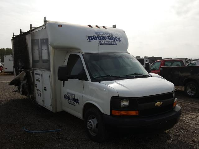Salvage cars for sale from Copart Hammond, IN: 2016 Chevrolet Express G4