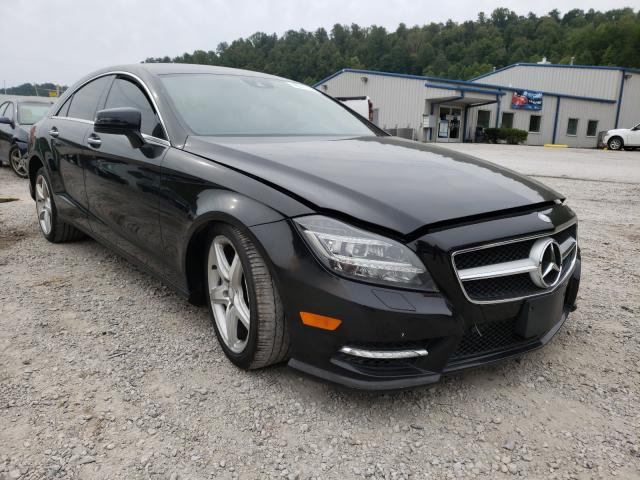 Salvage cars for sale from Copart Hurricane, WV: 2014 Mercedes-Benz CLS 550 4M