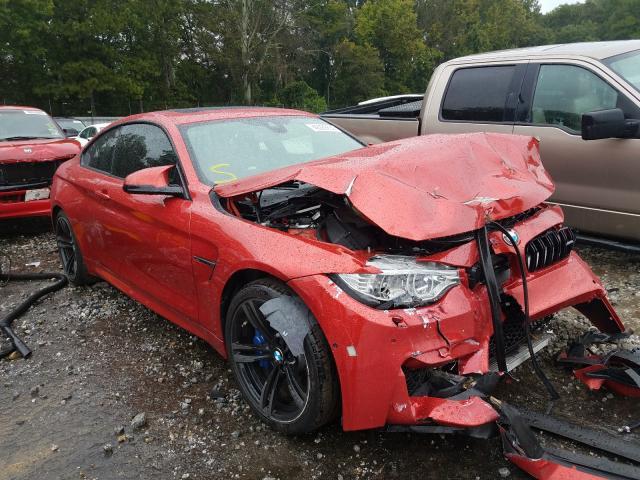 BMW Vehiculos salvage en venta: 2015 BMW M4