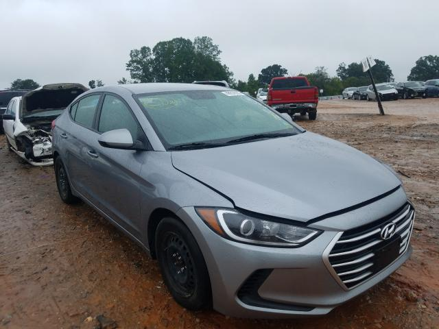 Salvage cars for sale from Copart China Grove, NC: 2017 Hyundai Elantra SE