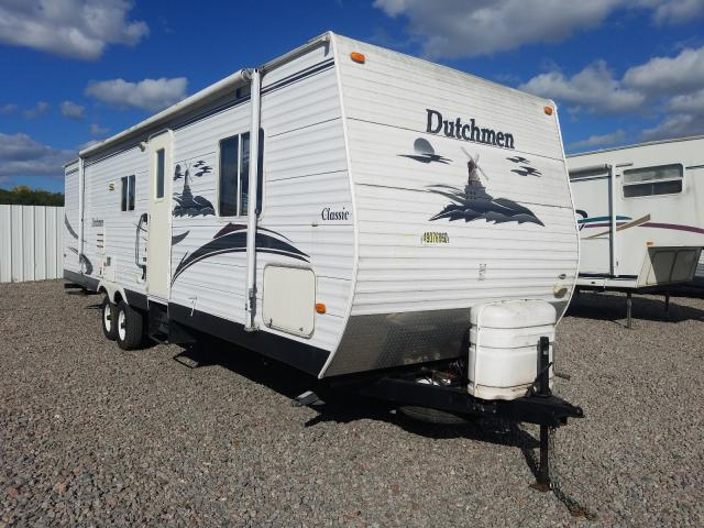 Dutchmen salvage cars for sale: 2005 Dutchmen Travel Trailer