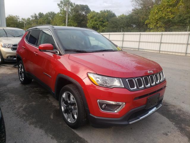 Jeep Compass LI salvage cars for sale: 2017 Jeep Compass LI