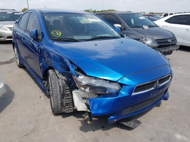 Mitsubishi salvage cars for sale: 2010 Mitsubishi Lancer GTS