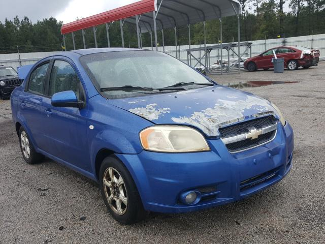 Salvage cars for sale at Harleyville, SC auction: 2008 Chevrolet Aveo Base