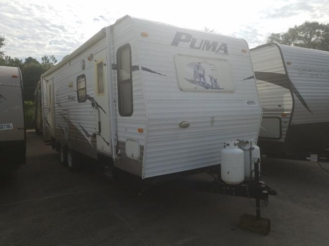 Wildwood Puma salvage cars for sale: 2008 Wildwood Puma