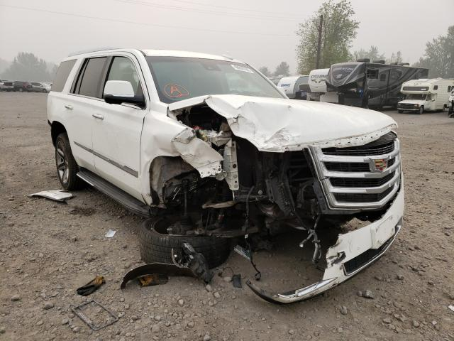 Cadillac salvage cars for sale: 2015 Cadillac Escalade L