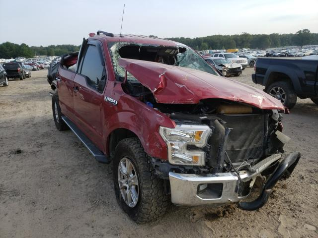 Salvage cars for sale at Conway, AR auction: 2015 Ford F150 Super