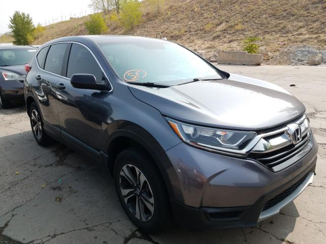 Honda salvage cars for sale: 2017 Honda CR-V LX
