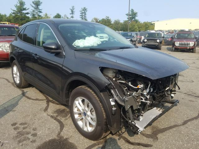 Salvage cars for sale from Copart Exeter, RI: 2020 Ford Escape SE