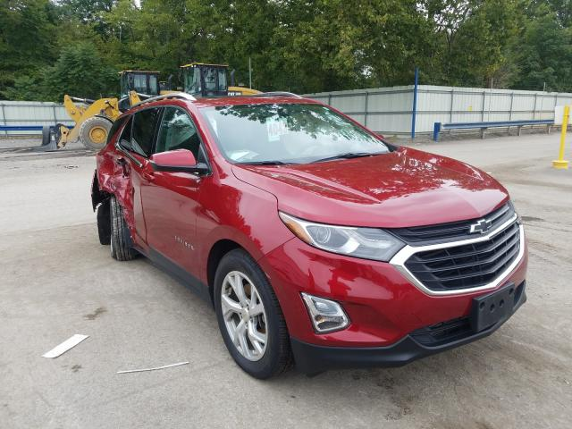 Salvage cars for sale from Copart Ellwood City, PA: 2019 Chevrolet Equinox LT