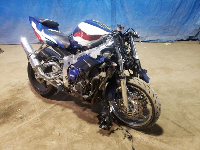 Salvage cars for sale from Copart Columbia Station, OH: 2007 Yamaha YZFR6 S