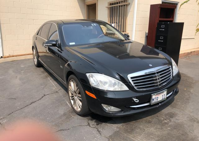 Mercedes-Benz S 600 salvage cars for sale: 2008 Mercedes-Benz S 600