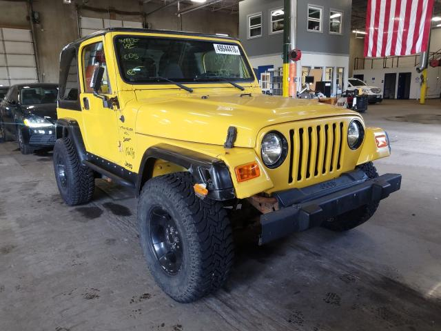 Jeep Wrangler salvage cars for sale: 2000 Jeep Wrangler