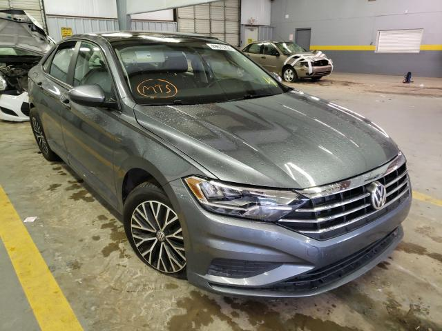 Salvage cars for sale from Copart Mocksville, NC: 2019 Volkswagen Jetta S