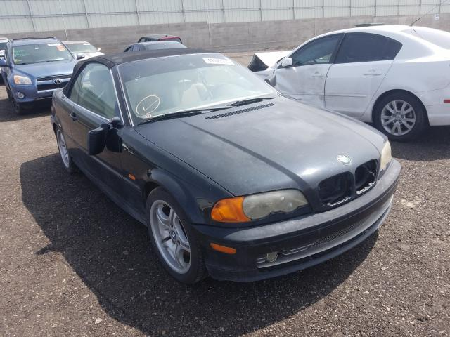 Salvage cars for sale from Copart Albuquerque, NM: 2001 BMW 330 CI