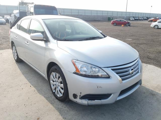 Salvage cars for sale from Copart Albuquerque, NM: 2014 Nissan Sentra S